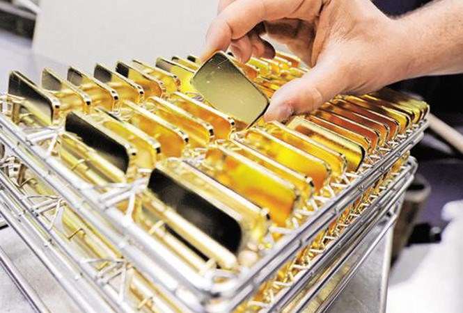 Giá vàng phiên đầu tuần giảm mạnh