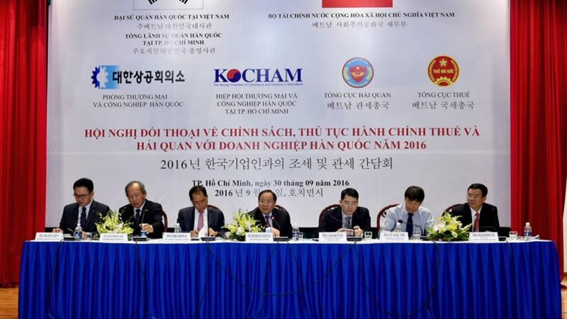Tiếp tục gỡ vướng về thuế, hải quan cho doanh nghiệp Hàn Quốc