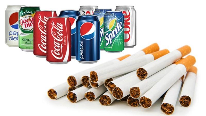 Thuế TTĐB với nước ngọt, thuốc lá: Góp phần bảo vệ sức khỏe cộng đồng