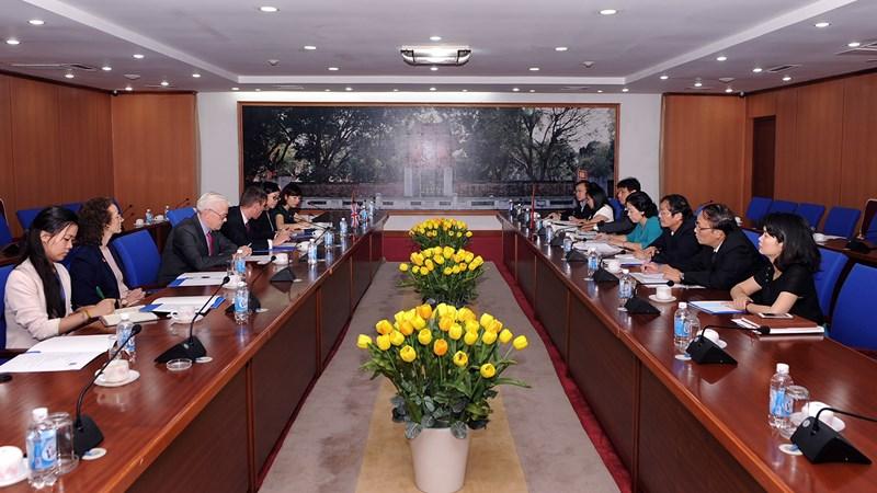 Tạo điều kiện thuận lợi để doanh nghiệp Anh đầu tư lâu dài tại Việt Nam