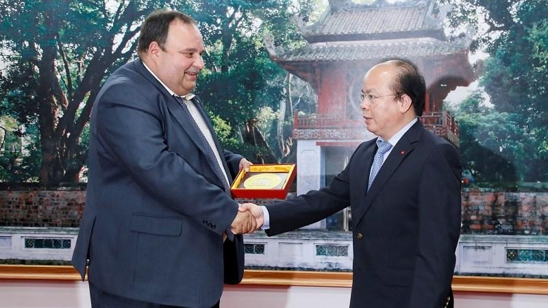 Mở rộng hợp tác chuyên sâu về kho bạc giữa Việt Nam - Liên bang Nga