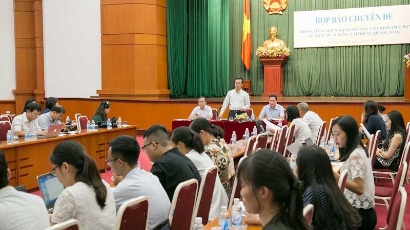 Bộ Tài chính: Chuẩn bị kỹ lưỡng cho Hội nghị Bộ trưởng Tài chính APEC 2017