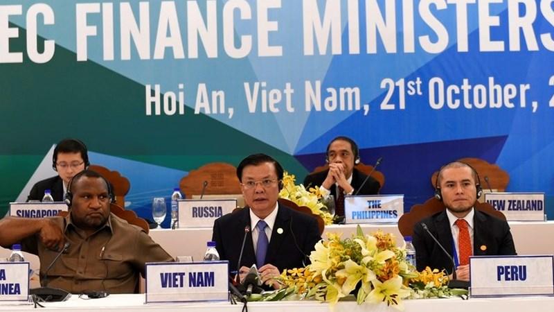 Bộ trưởng Tài chính APEC 2017 ra Tuyên bố chung