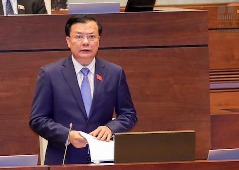 Bộ trưởng Đinh Tiến Dũng làm rõ nhiều vấn đề về tỷ lệ huy động ngân sách