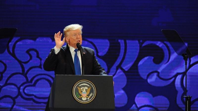 """Tổng thống Trump: """"Không thể để các nước lợi dụng Mỹ"""""""