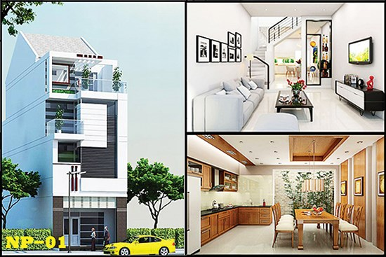 Thiết kế nhà cho gia đình ba thế hệ