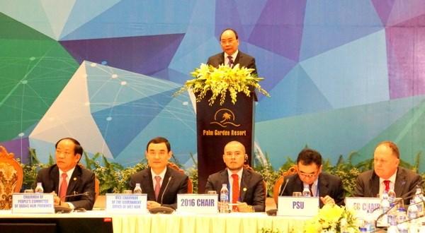 Thủ tướng dự và phát biểu khai mạc Hội nghị Bộ trưởng Tài chính APEC 2017