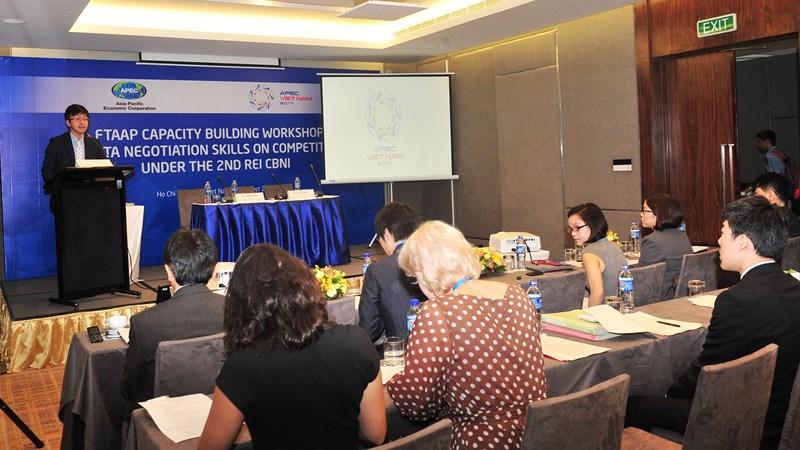 Các nền kinh tế APEC chia sẻ kỹ năng đàm phán về cạnh tranh trong các FTA
