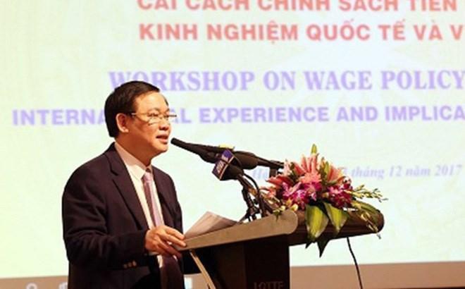 Phó Thủ tướng Vương Đình Huệ: Nhu cầu cải cách tiền lương đã chín muồi