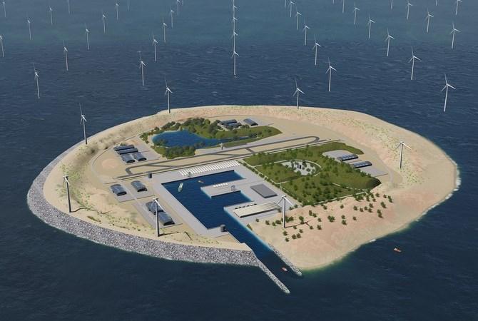 Kế hoạch xây đảo nhân tạo đầy táo bạo của châu Âu