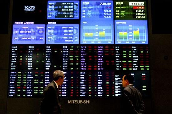 Chứng khoán châu Á cao kỷ lục, đồng USD chịu áp lực giảm mạnh