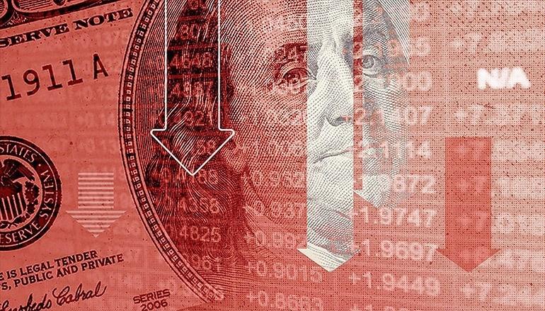 Chứng khoán đi xuống, USD mất giá khi Chính phủ Mỹ đóng cửa