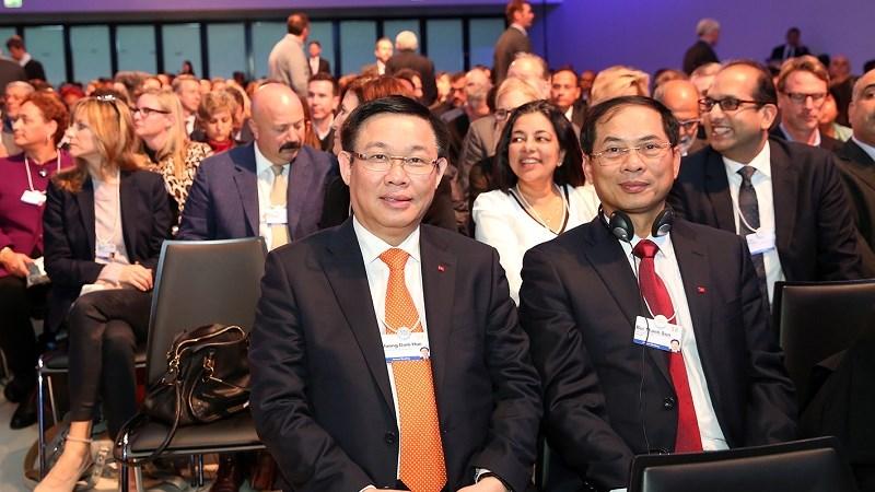 Phó Thủ tướng Vương Đình Huệ dự Hội nghị thường niên lần thứ 48 WEF tại Thụy Sỹ