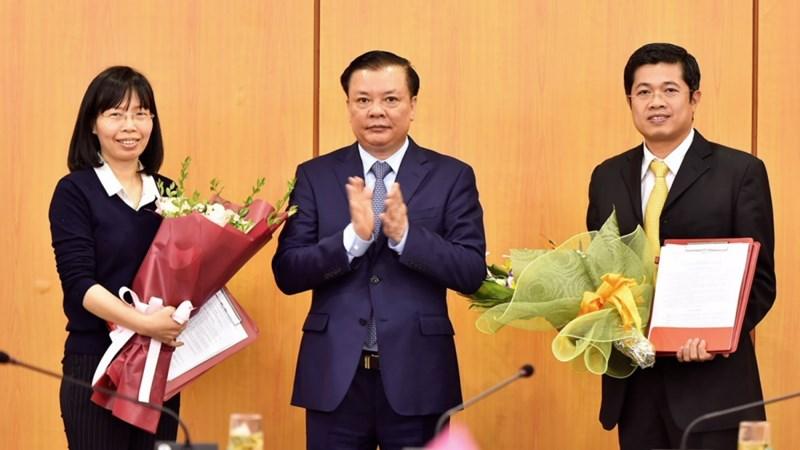 Bộ Tài chính bổ nhiệm 02 chức danh lãnh đạo Vụ Tổ chức cán bộ