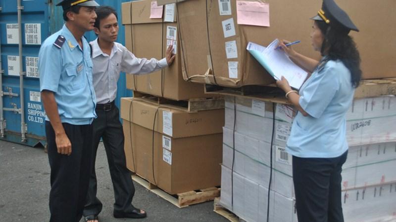 Tăng cường kiểm tra các lô hàng nhập khẩu khai báo là phần mềm