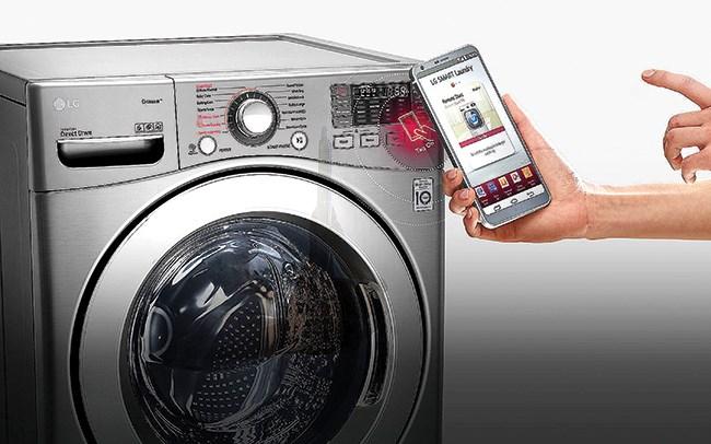 Tiện dụng với máy giặt được điều khiển từ xa