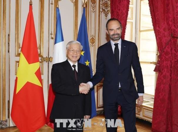 Hợp tác kinh tế giữ vai trò quan trọng trong quan hệ Việt-Pháp