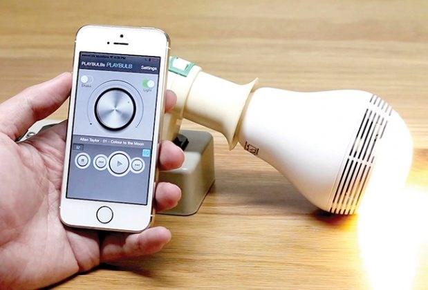 Khi bóng đèn điều khiển bằng smartphone
