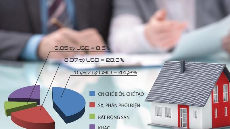 Nguồn vốn FDI bất động sản: