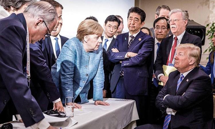 """Hội nghị G7: """"Mặt trận đa phương"""" chống ông Donald Trump"""