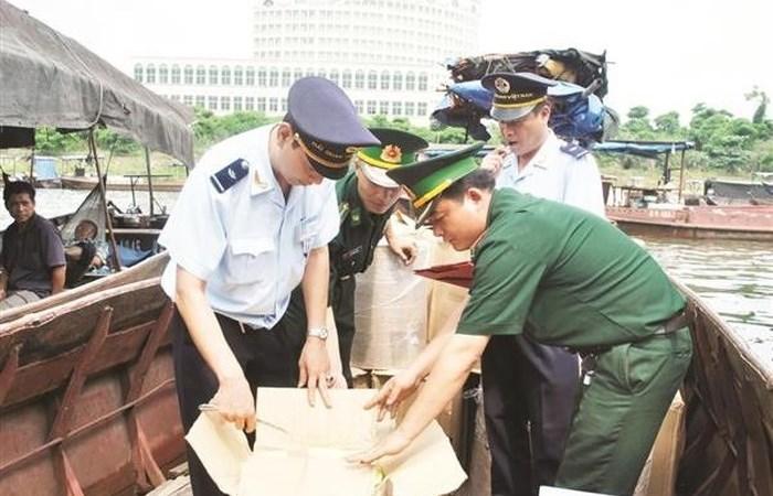 1.319 vụ việc vi phạm về hải quan với trị giá hơn 194,143 tỷ đồng bị xử lý