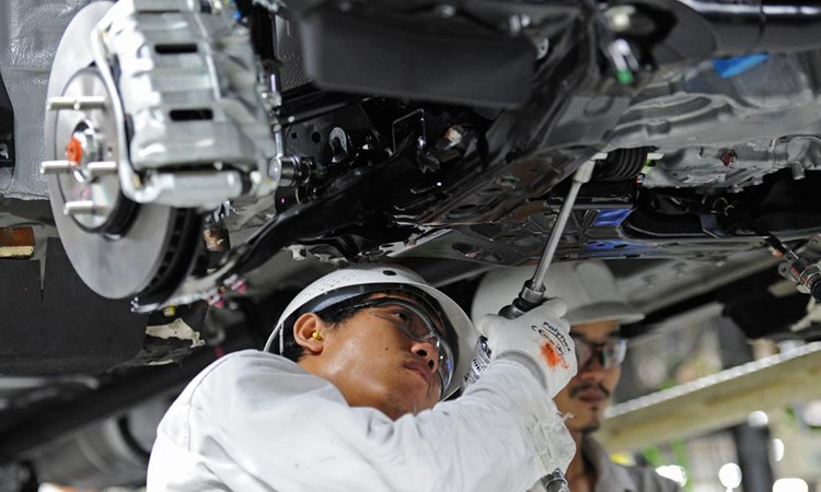 Ngành sản xuất ô tô đưa Thái Lan trở thành