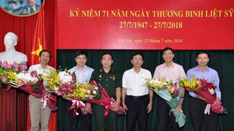 Bộ Tài chính tổ chức Lễ kỷ niệm 71 năm ngày Thương binh Liệt sỹ