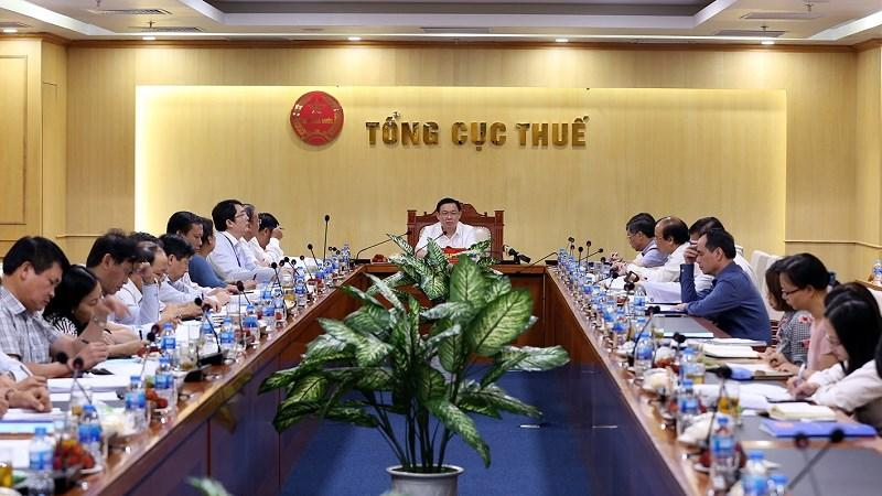 Phó Thủ tướng Vương Đình Huệ khen Dự thảo Luật Quản lý thuế (sửa đổi) được chuẩn bị công phu