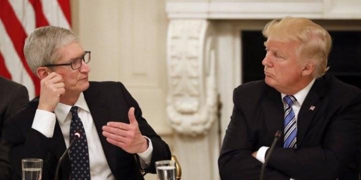 Trump khuyên Apple xây dựng nhà máy ở Mỹ thay vì Trung Quốc
