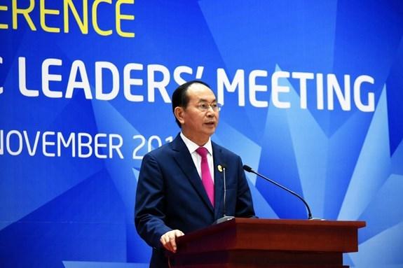Dấu ấn cố Chủ tịch nước Trần Đại Quang tại hai kỳ thượng đỉnh APEC