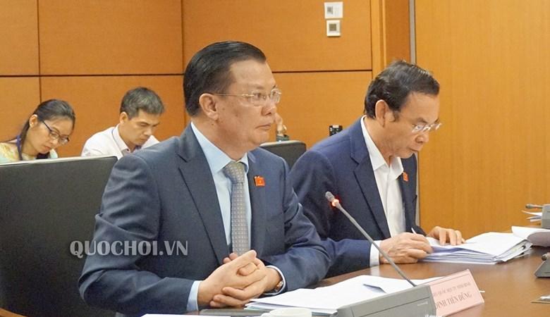 Bộ trưởng Đinh Tiến Dũng: Đã kiểm soát được tốc độ gia tăng nợ công