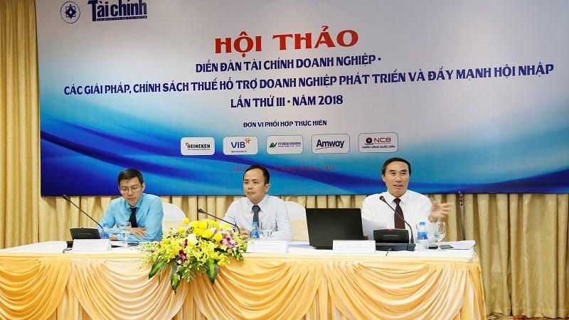 Chính sách thuế góp phần tích cực cải thiện môi trường kinh doanh, hỗ trợ doanh nghiệp phát triển