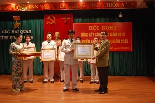 Hải quan Quảng Ninh phấn đấu đạt chỉ tiêu thu ngân sách Nhà nước năm 2013
