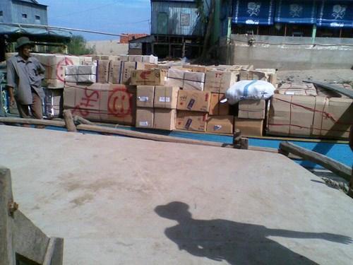 Thủ tục hải quan đối với hàng hoá có xuất xứ từ Campuchia nhập khẩu theo hạn ngạch thuế quan năm 2013