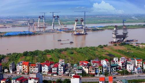 Nhà thầu Nhật đòi bồi thường 200 tỷ ở dự án cầu Nhật Tân