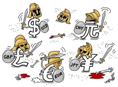 """""""Chiến tranh tiền tệ"""" thế giới và những rủi ro tiềm ẩn"""