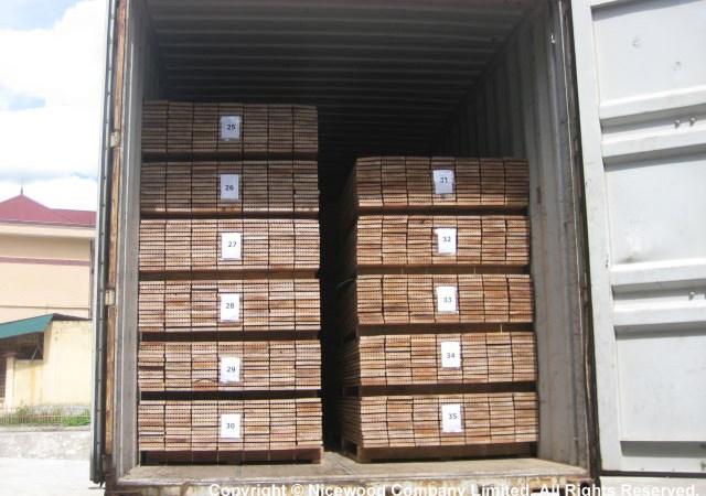 Thu thuế xuất khẩu mặt hàng ván sàn gỗ xuất khẩu có nguồn gốc nhập khẩu?