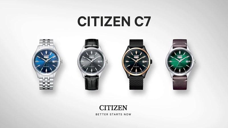 CITIZEN ra mắt bộ sưu tập đồng hồ mới - CITIZEN C7