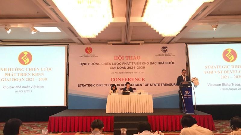 Kho bạc Nhà nước khẩn trương hoàn thiện Chiến lược phát triển kho bạc giai đoạn 2021-2030