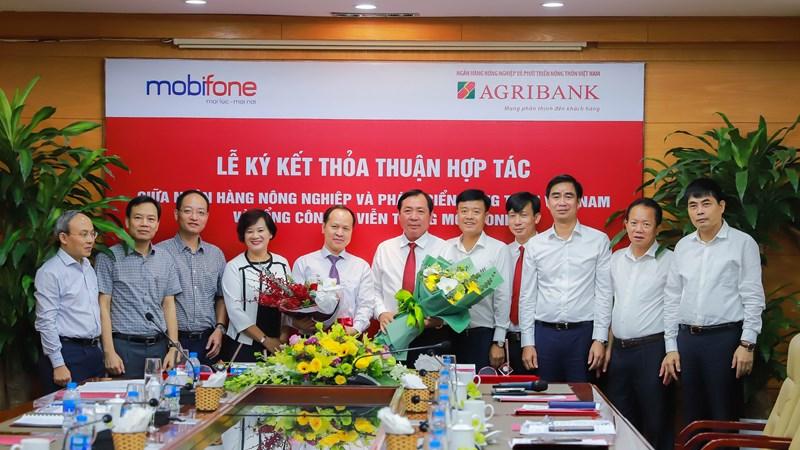 Agribank và MobiFone ký kết thỏa thuận hợp tác cùng phát triển