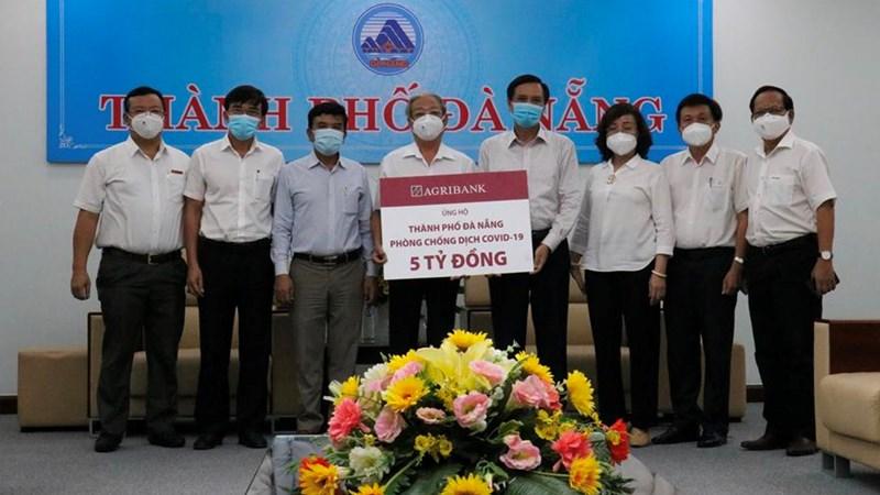 Agribank ủng hộ 5 tỷ đồng hỗ trợ thành phố Đà Nẵng phòng chống dịch Covid 19