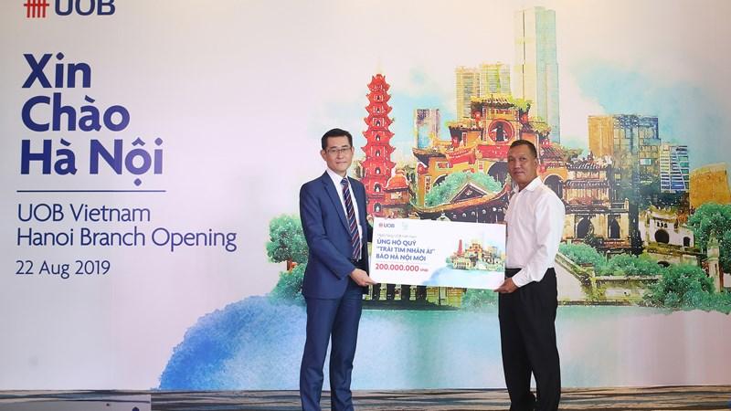 UOB Việt Nam mở rộng thị phần ra khu vực miền Bắc