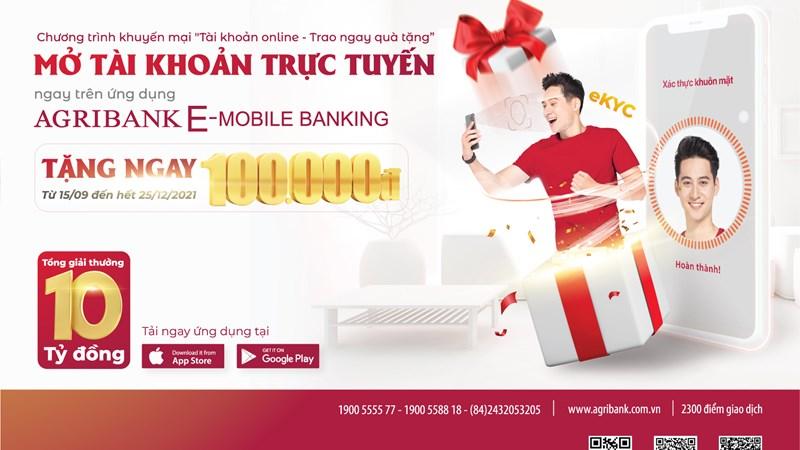 """Mở tài khoản trực tuyến, Agribank """"ghi điểm"""" với người dùng"""
