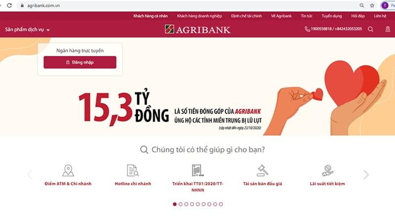 Agribank khuyến cáo hành vi lừa đảo, đánh cắp thông tin qua các trang điện tử giả mạo