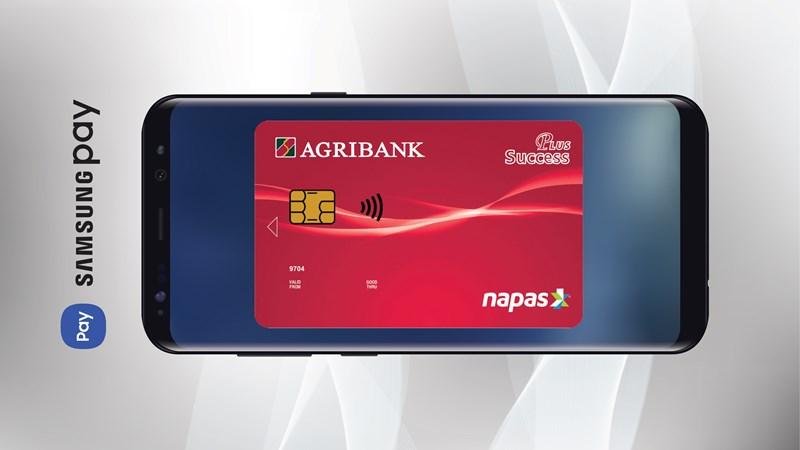 Thanh toán SamsungPay với thẻ Agribank