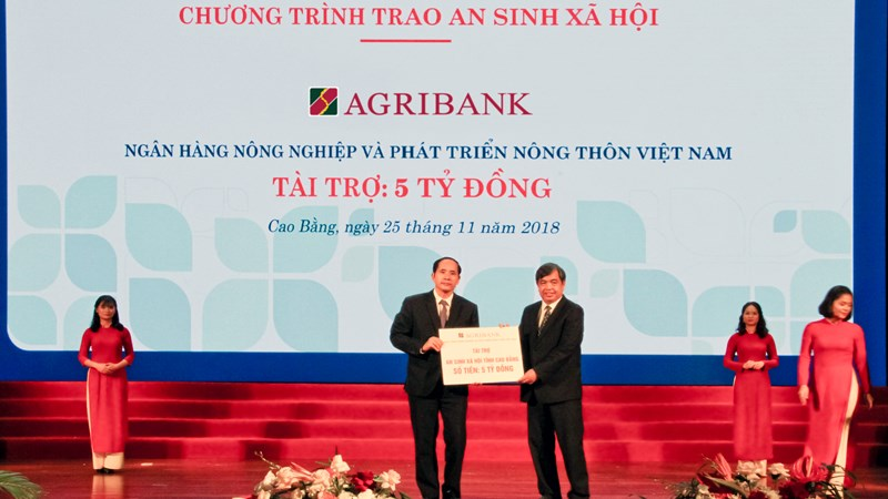 Agribank cam kết đầu tư hơn 700 tỷ đồng tại Cao Bằng