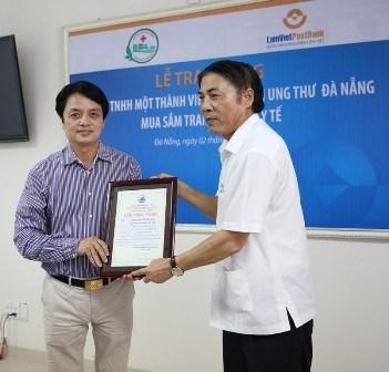 LienVietPostBank hỗ trợ Bệnh viện ung thư Đà Nẵng hơn 37 tỷ đồng