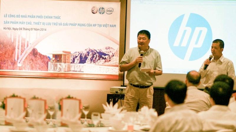 ESYS chính thức là nhà phân phối cho HP Việt Nam