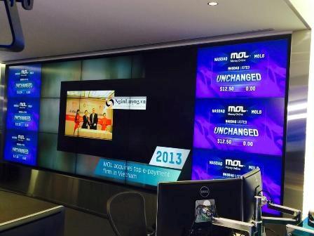 MOL GLOBAL chính thức IPO tại sàn chứng khoán Nasdaq