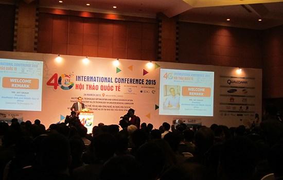 Năm 2016, Việt Nam sẽ cấp phép công nghệ 4G